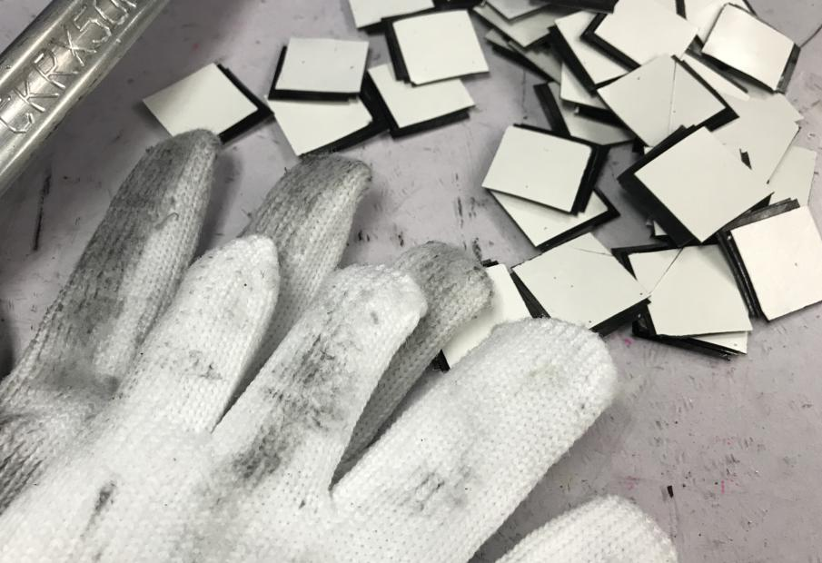 small pieces carbon fiber for rim nipple hole enhancement