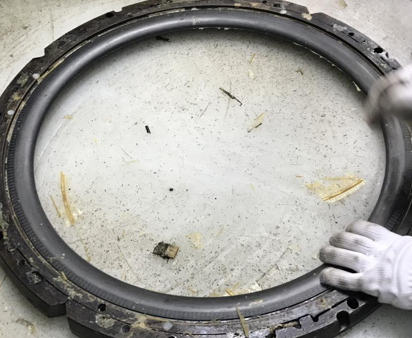 carbon rim molding
