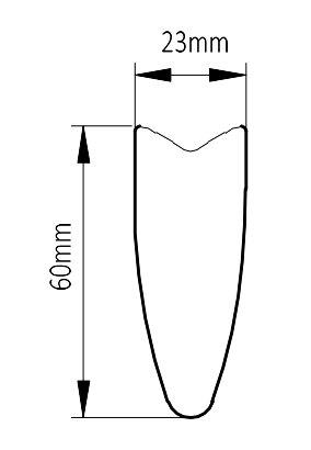3 spoke wheel rim profile
