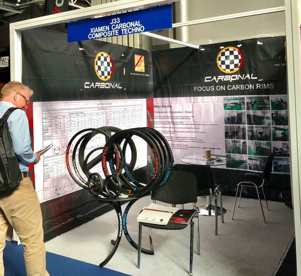 2018 The Cycle Show, Carbonal bike carbon rims
