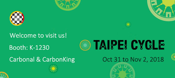 2018 Taipei Cycle, Make a date with us at K-1230!